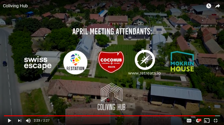 Coliving Hub – April Meeting