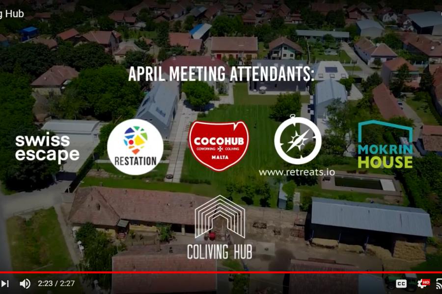 Coliving Hub – April Meeting