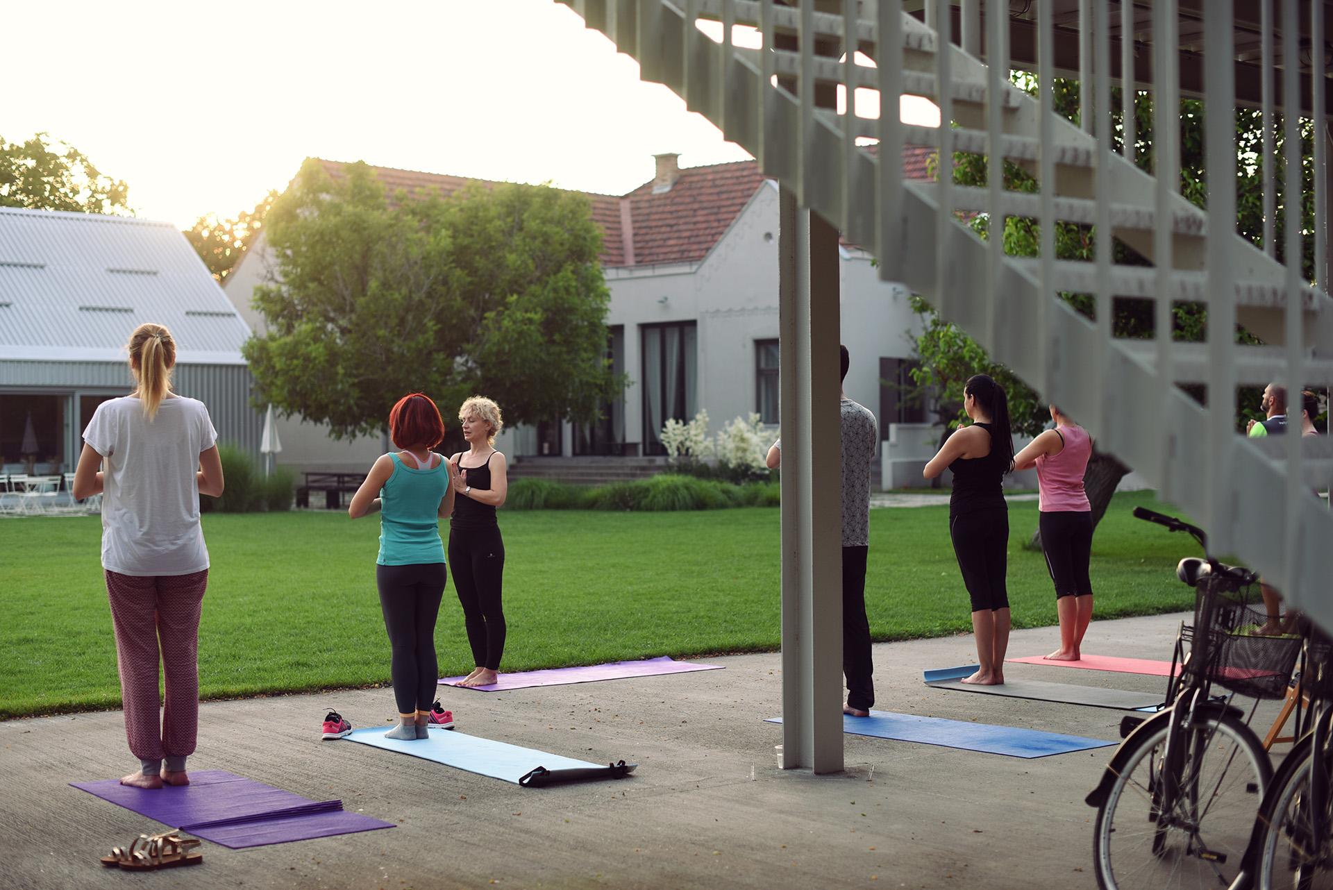 3 Yard Yoga