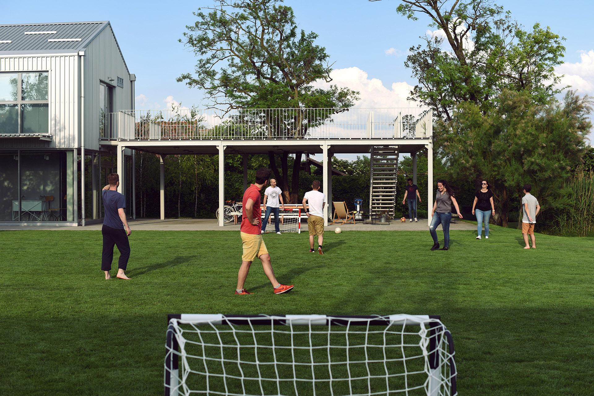 4 Yard Soccer