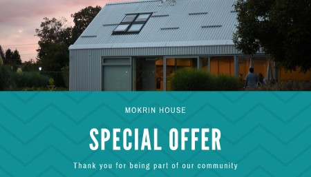 Special Offer – January, February & March