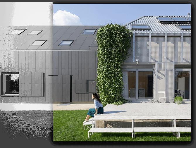 Exterior house A