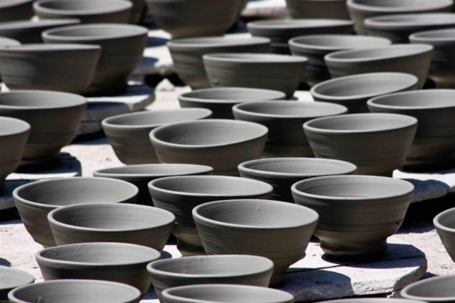 Ceramics workshop in Mokrin House