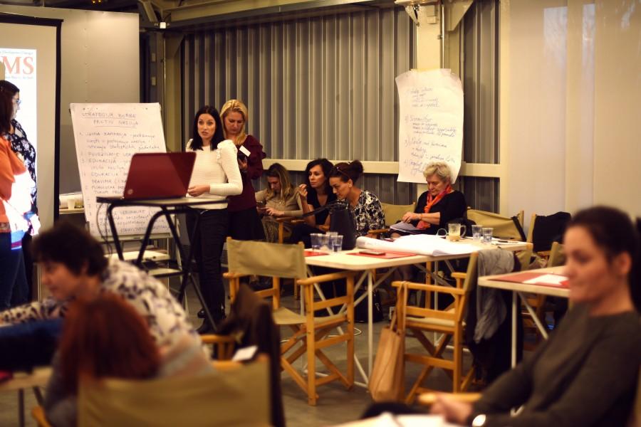 Women's Rights Seminar at Mokrin House